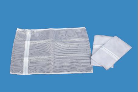 Túi lưới giặt trắng